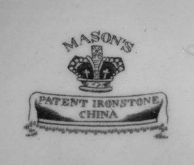 Dating masons ironstone